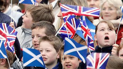 المتحدثين الرسميين للغة الإنجليزية وهم سكان إنجلترا