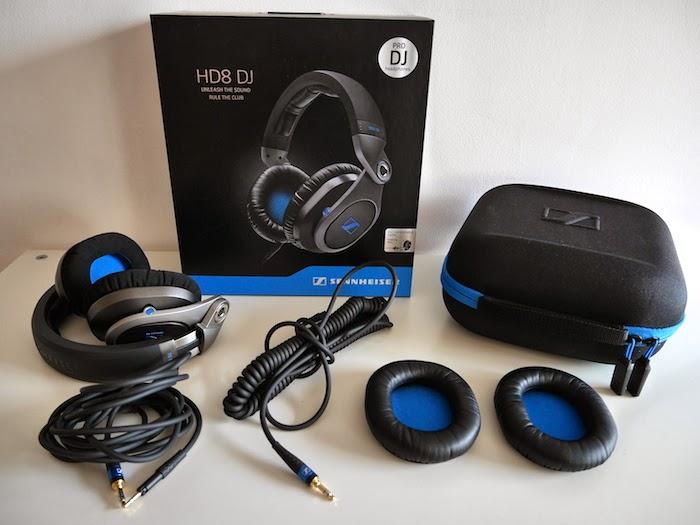 Unboxing Sennheiser HD8 DJ