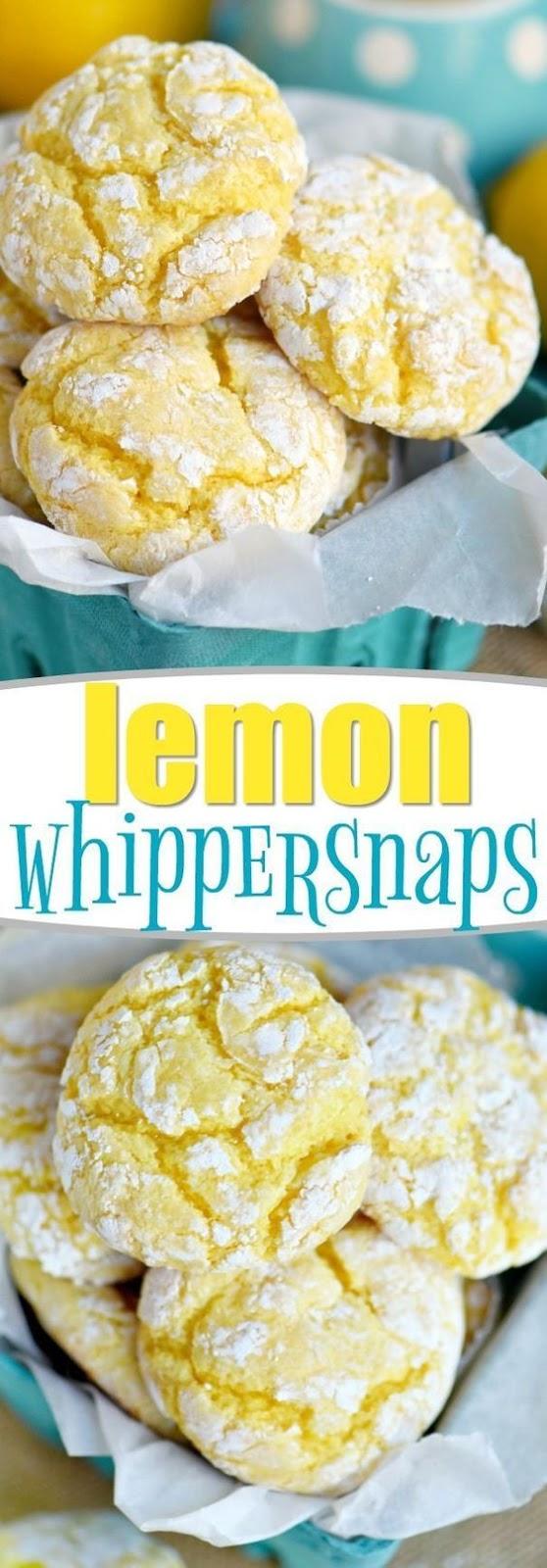 Lemon Whippersnaps Recipe