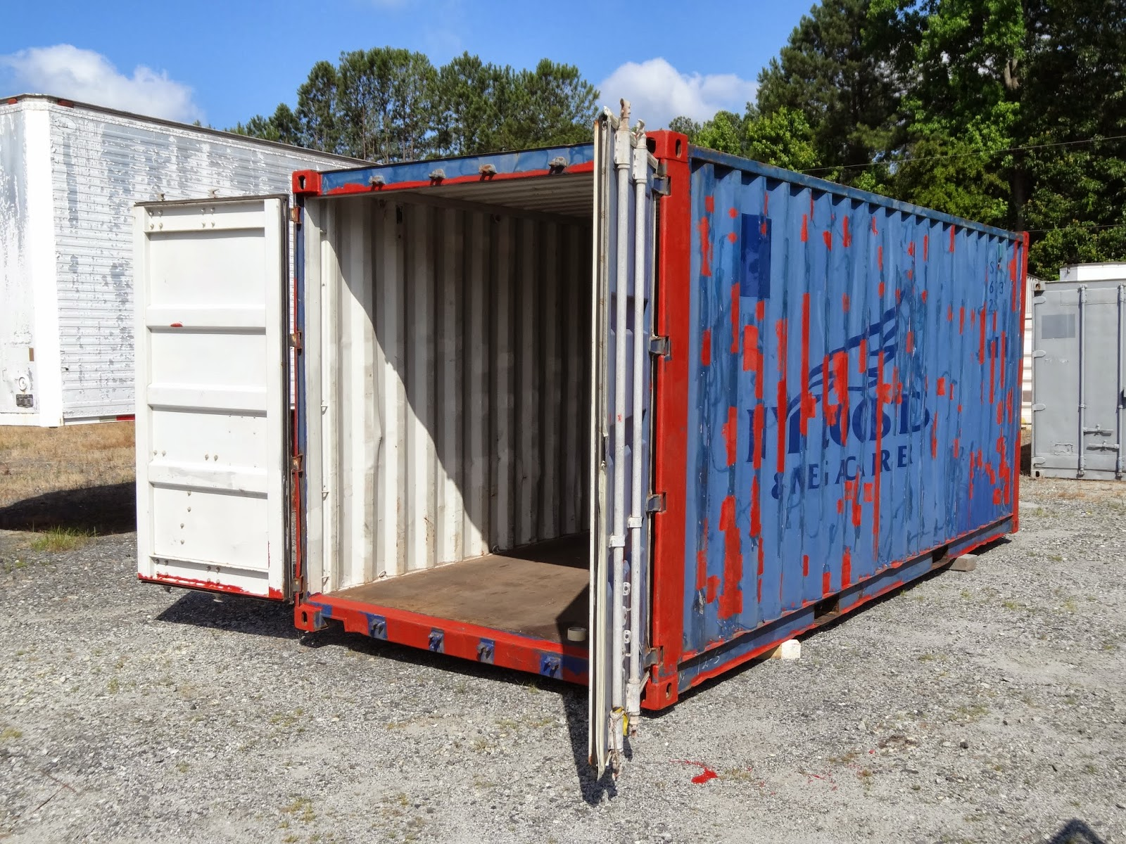 Atlanta Used Shipping Containers and Semi Trailers ...