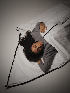 Wearable Tyvek Sleeping Bag