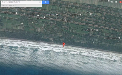 Video Penampakan Bangkai Pesawat Oleh Google Map