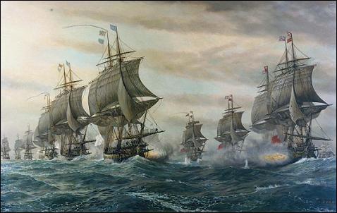 Batalla de Cheasepeake, 1781, II batalla de los Cabos de Virginia