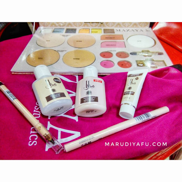Peralatan Make Up Beauty Class Mazaya