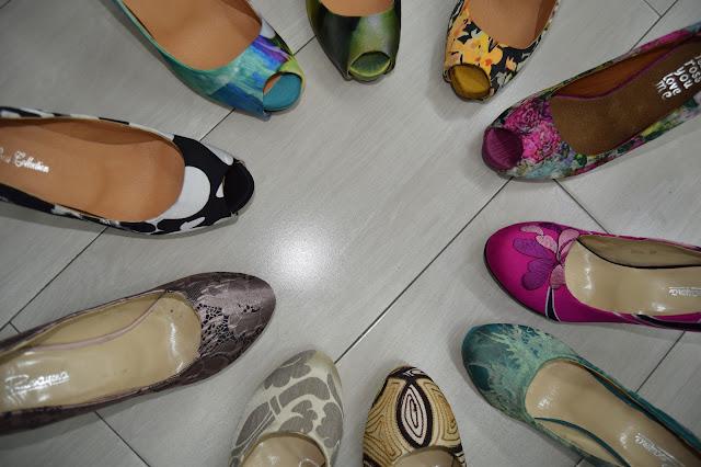 Zapatos curso septiembre 2016 en círculos