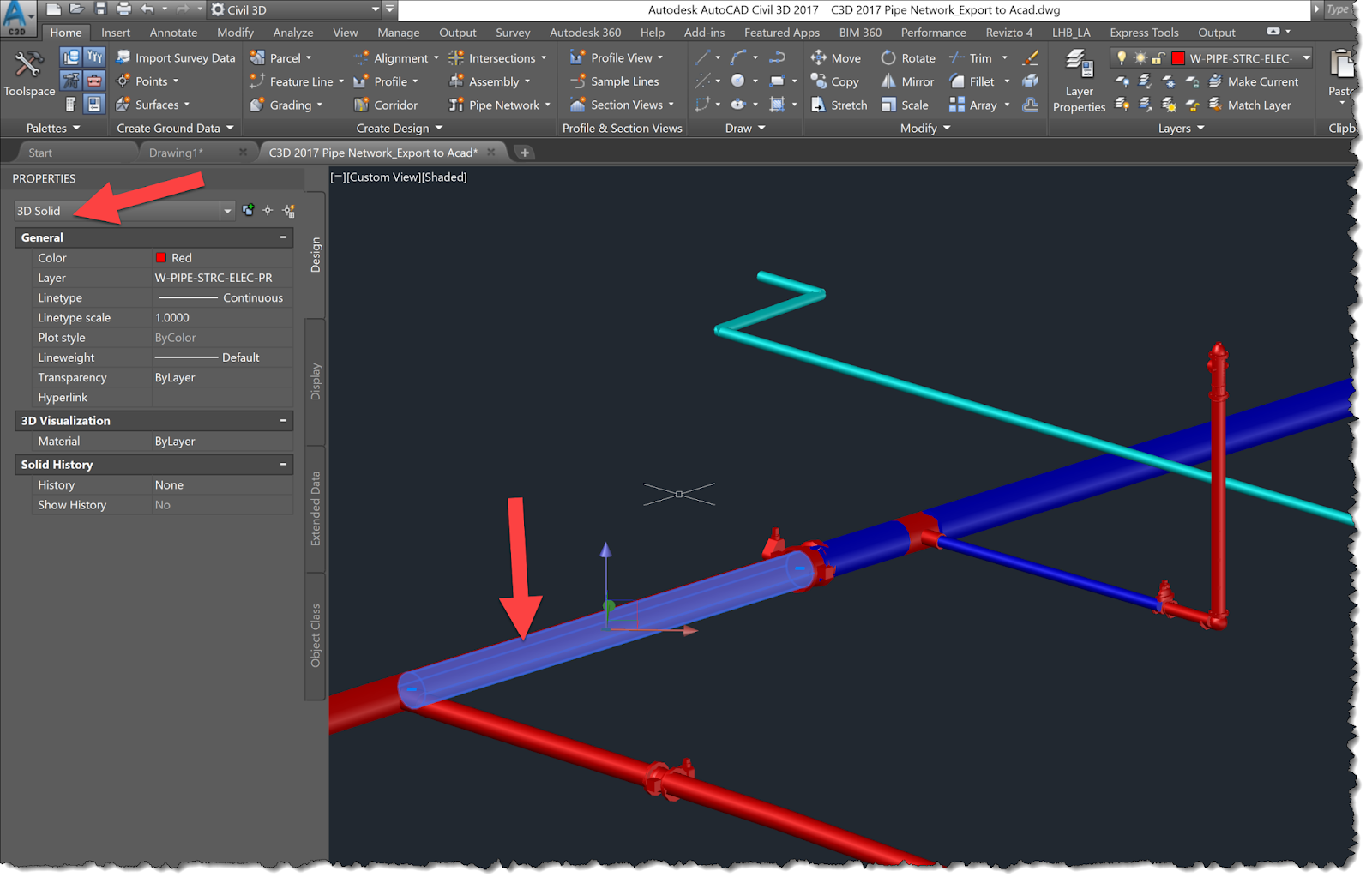 BIM Chapters: Civil 3D Pipe Network to Revit