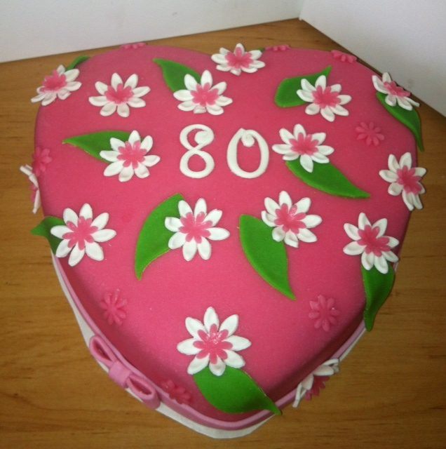 taart 80 Baksels
