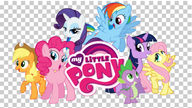 Little Pony PNG Background Free