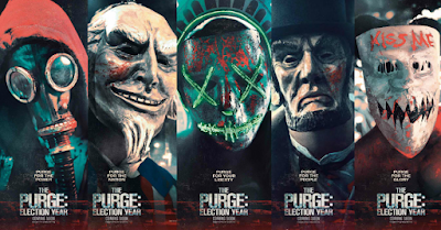 Ulasan Sinopsis Film Terbaru The Purge: Election Year