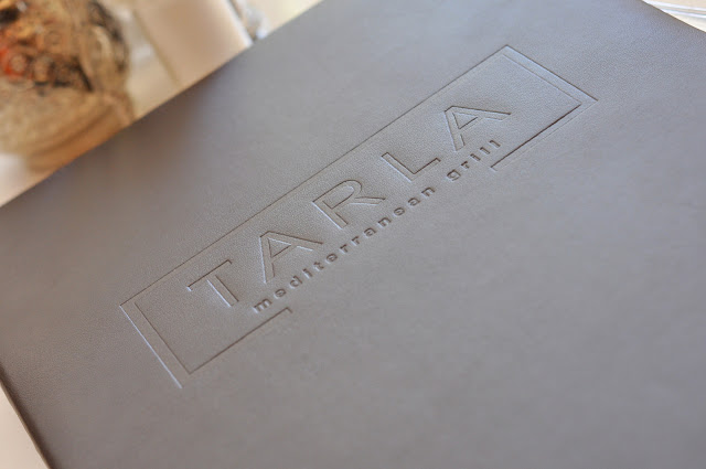 Menu at Tarla Mediterranean Grill - Napa, CA | Taste As You Go