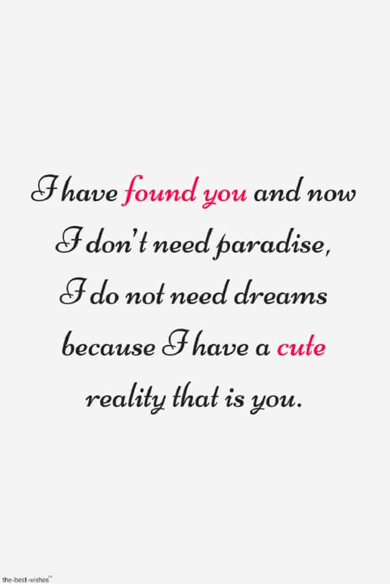 cute luv quote image