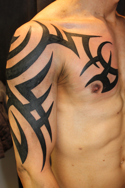 arm tribal tattoos. Black Bedroom Furniture Sets. Home Design Ideas