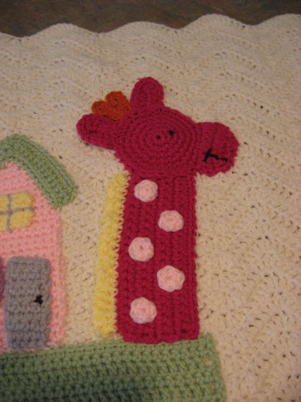 Hooked on Needles: Crocheted Noah's Ark Blanket ~ Finished!