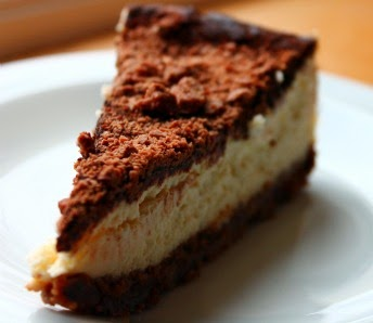 Chocolate Vanilla Cheesecake