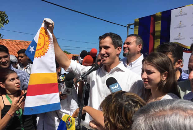 """Guaidó: Los 7 """"envilecidos ladrones"""" de Miraflores tienen miedo"""