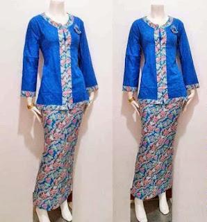 Model Baju Batik Setelan untukpramugari