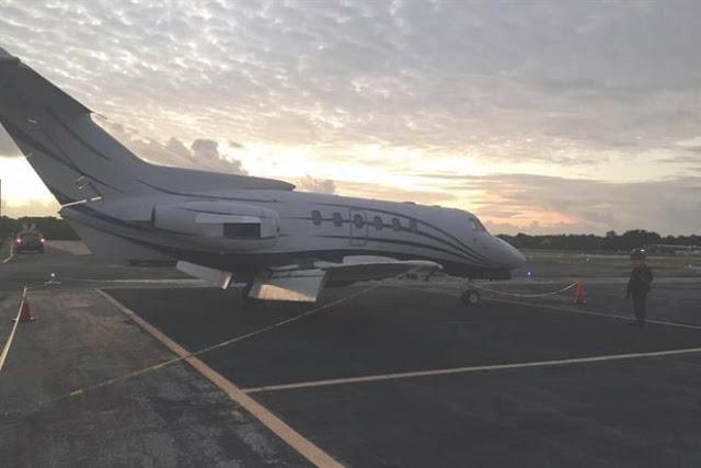 Narcos pierden la merca, abandonan Jet con 1400 kg de Cocaína en Aeropuerto de Chetumal