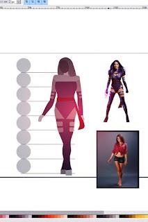 X-men Psylocke fan art