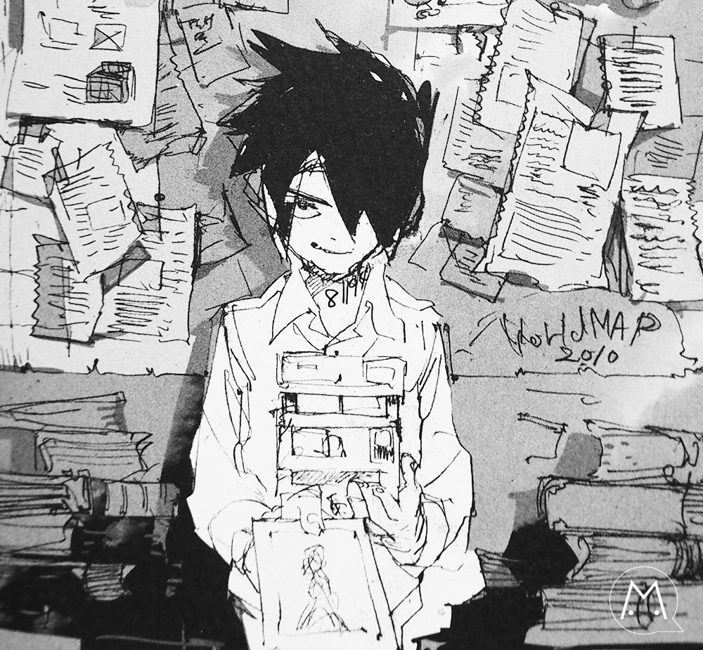 The promised neverland manga Ray