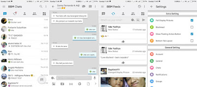 bbm modifikasi tema ios light v12