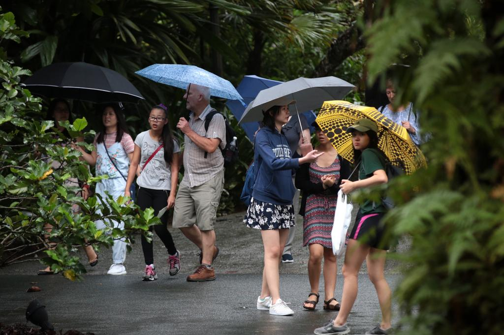 Rainy weather eases, slight increase in temperatures forecasted in next few days