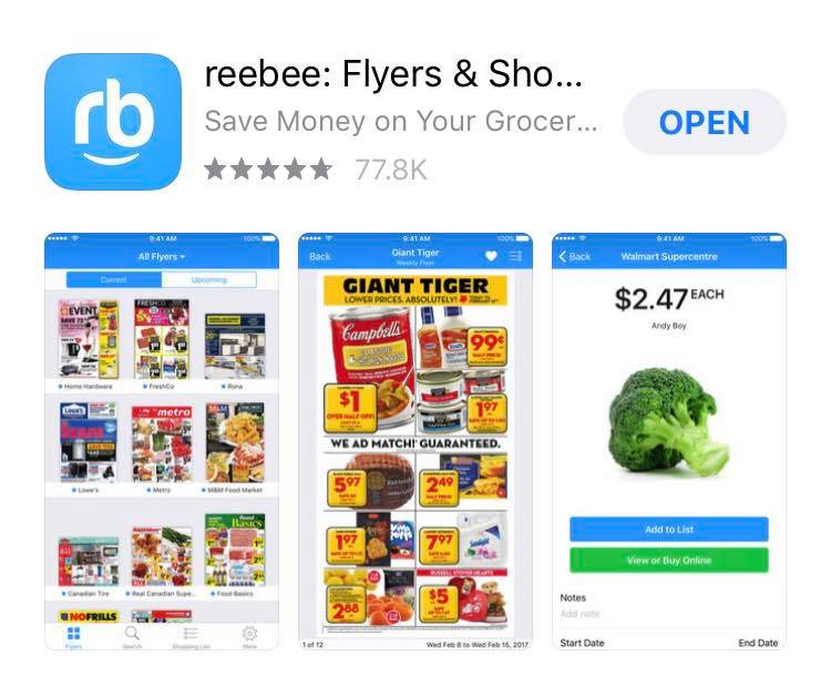 Price Match App >> Tales Of Mommyhood Shop Smarter With Reebee
