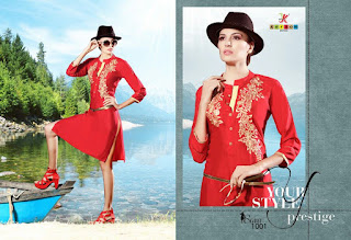 SARA KERSOM KURTIS KURTA TOPS WHOLESALER LOWEST PRICE SURAT GUJARAT