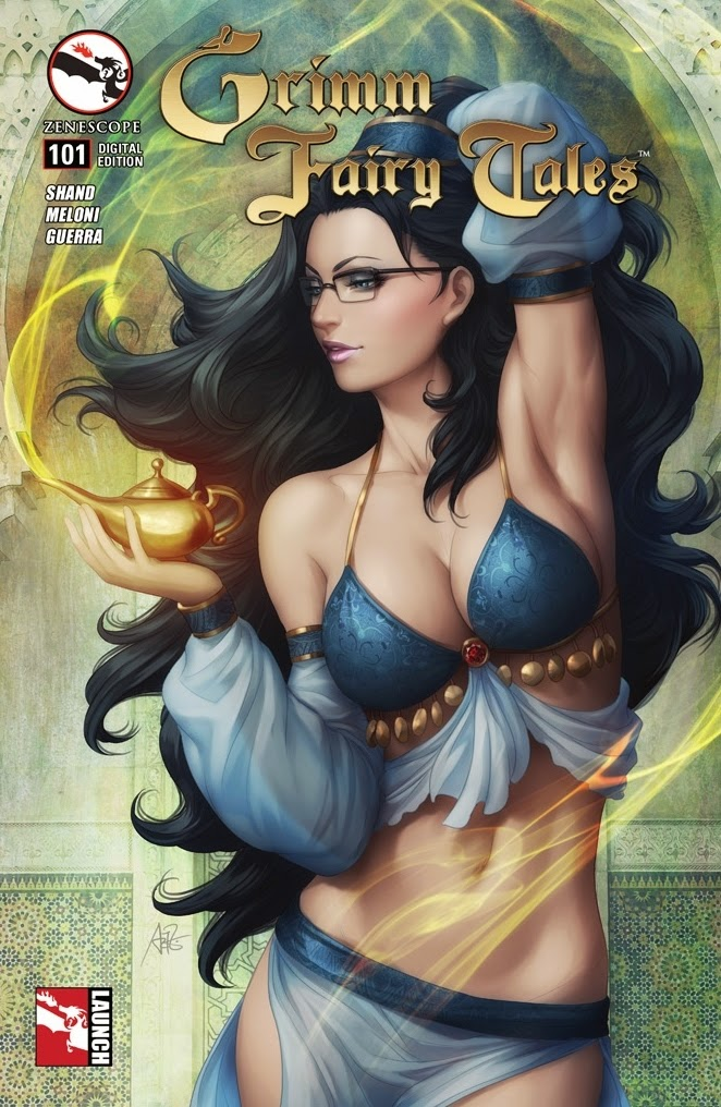 Grimm Fairy Tales Comic Book