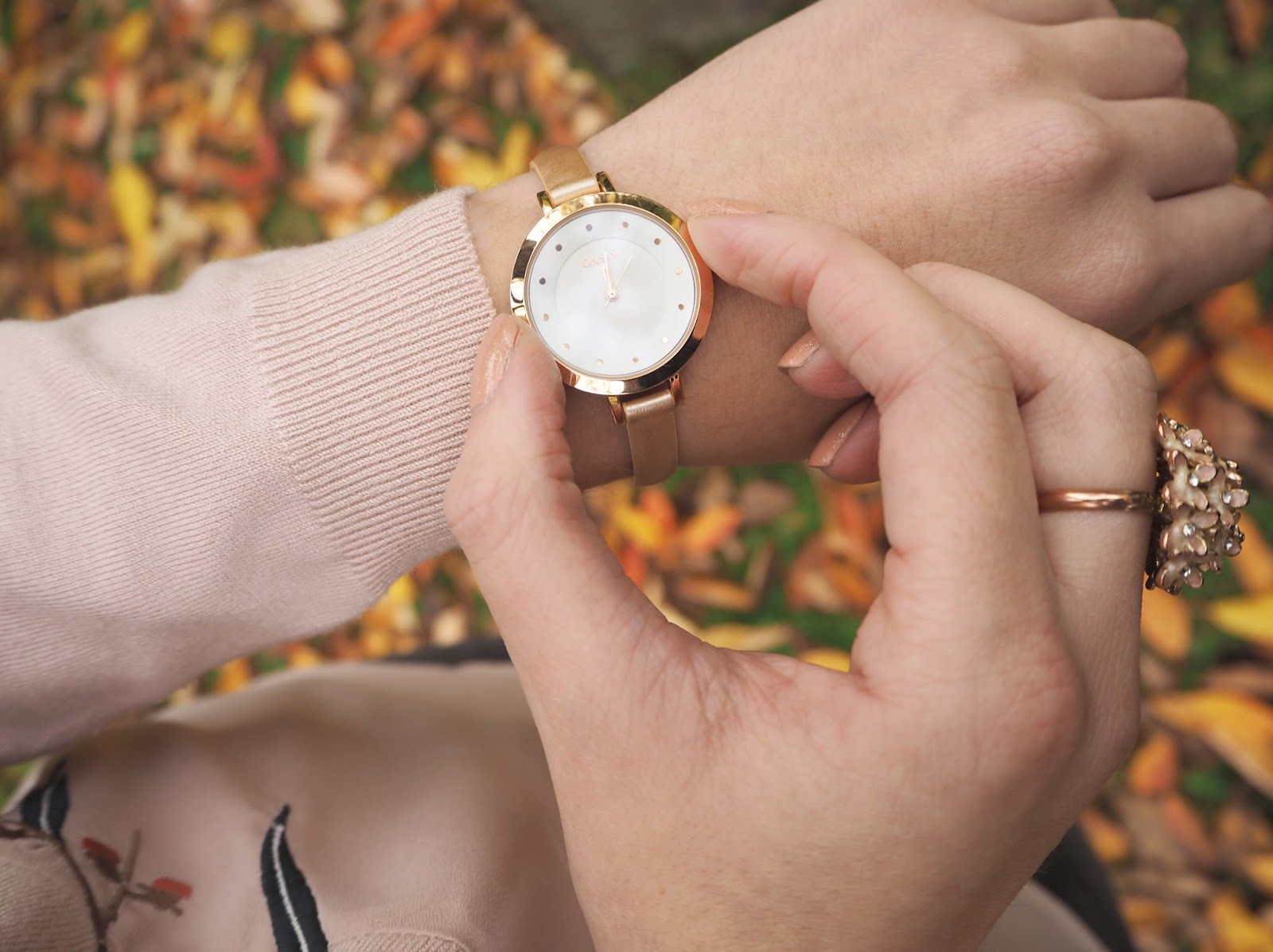 Loves List: October, Katie Kirk Loves, Oasis Fashion, Rose Gold Watch, Fashion Blogger, Style Blogger, UK Blogger