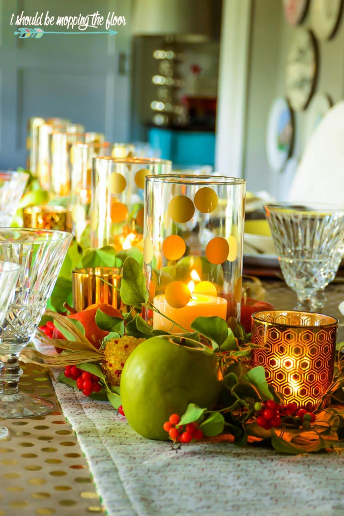 Gorgeous Fall Tablescape