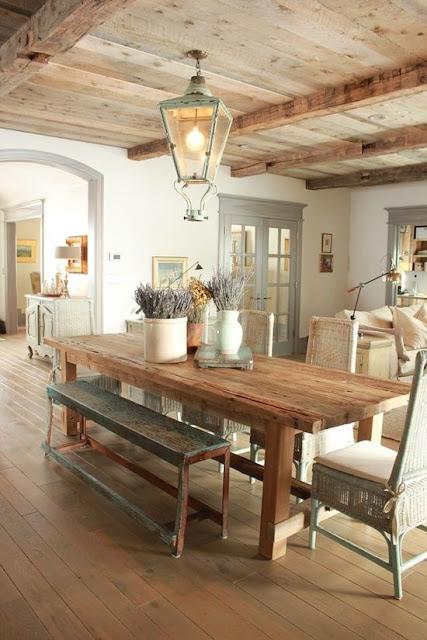 42 inspiring farmhouse dining room decor ideas - hello lovely