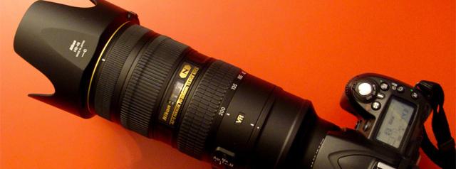 Ảnh minh họa cho thuê Lens Nikon