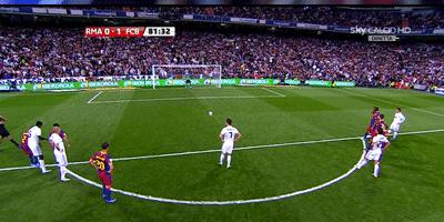 LFP-Week-32 : Real Madrid 1 vs 1 Barcelona 16-04-2011