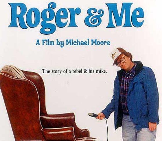 Affiche de Roger et moi, de Michael Moore (1989)