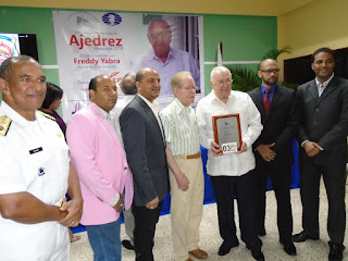 Inauguran Campeonato Nacional de Ajedrez Superior, dedicado al inmortal del Deporte dominicano Freddy Yabra.