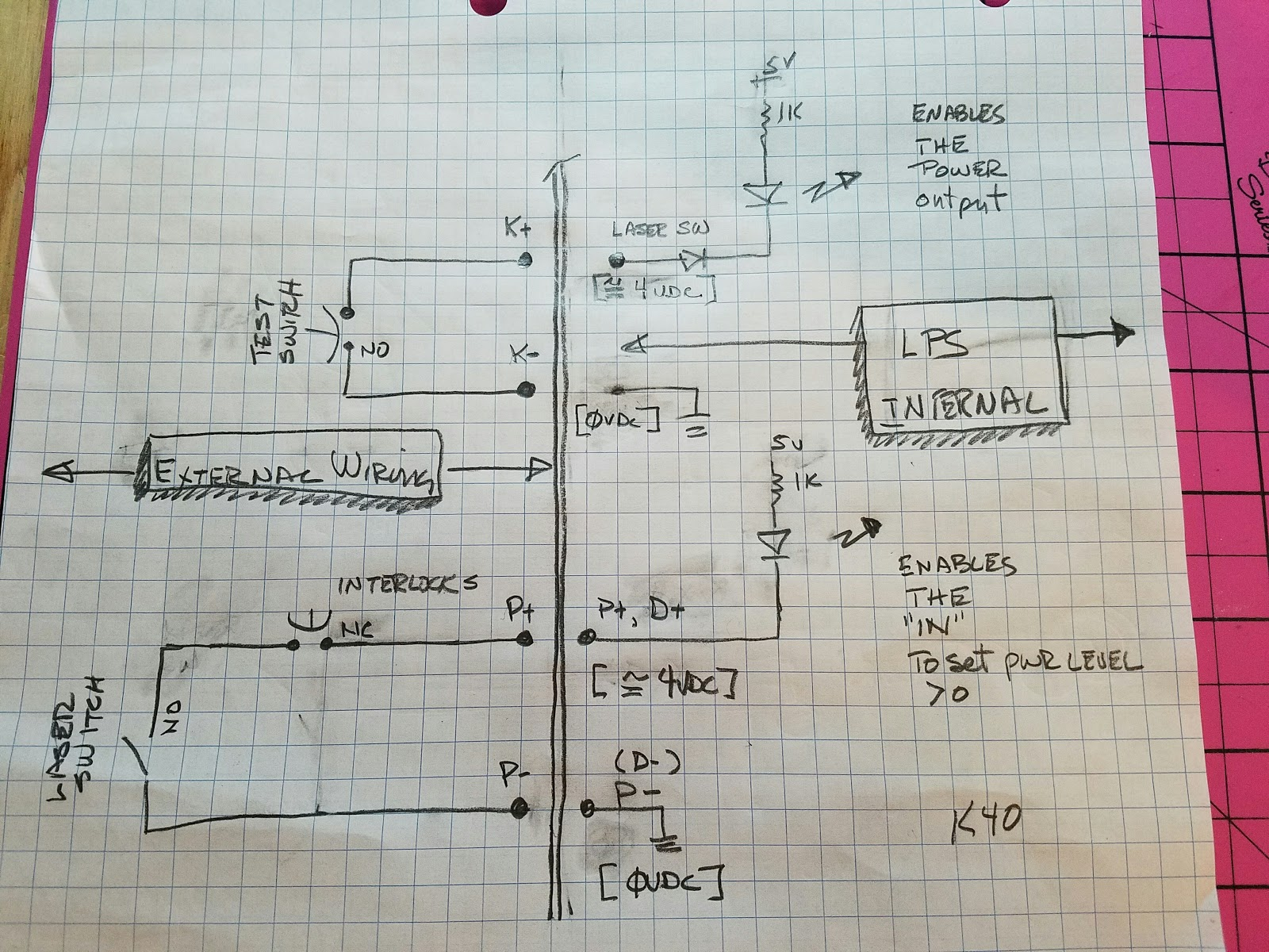 hight resolution of showing the interface equivalent circuit