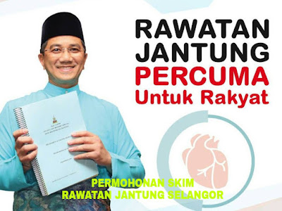 Permohonan Skim Rawatan Jantung Selangor 2018 Online