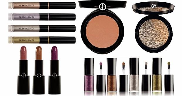 colección para otoño de giorgio armani makeup