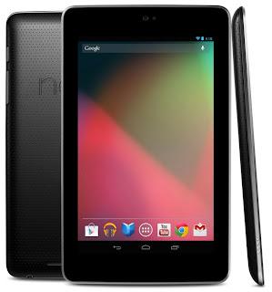 harga tablet google nexus 7, spesifikasi lengkap tablet nexus 7, gambar dan review tablet nexus 7 2 jutaan