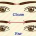 THE GAP BETWEEN YOUR EYEBROWS MAY REVEAL YOUR PERSONALITY!