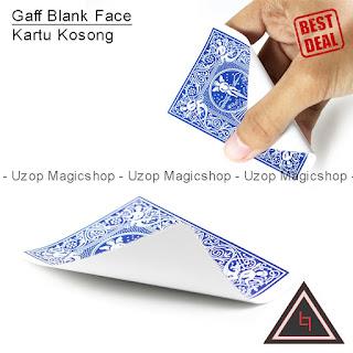 Jual Alat Sulap Gaff Blank Face