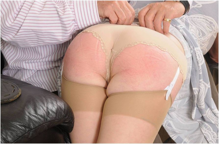 Remarkable, spanking mature wife