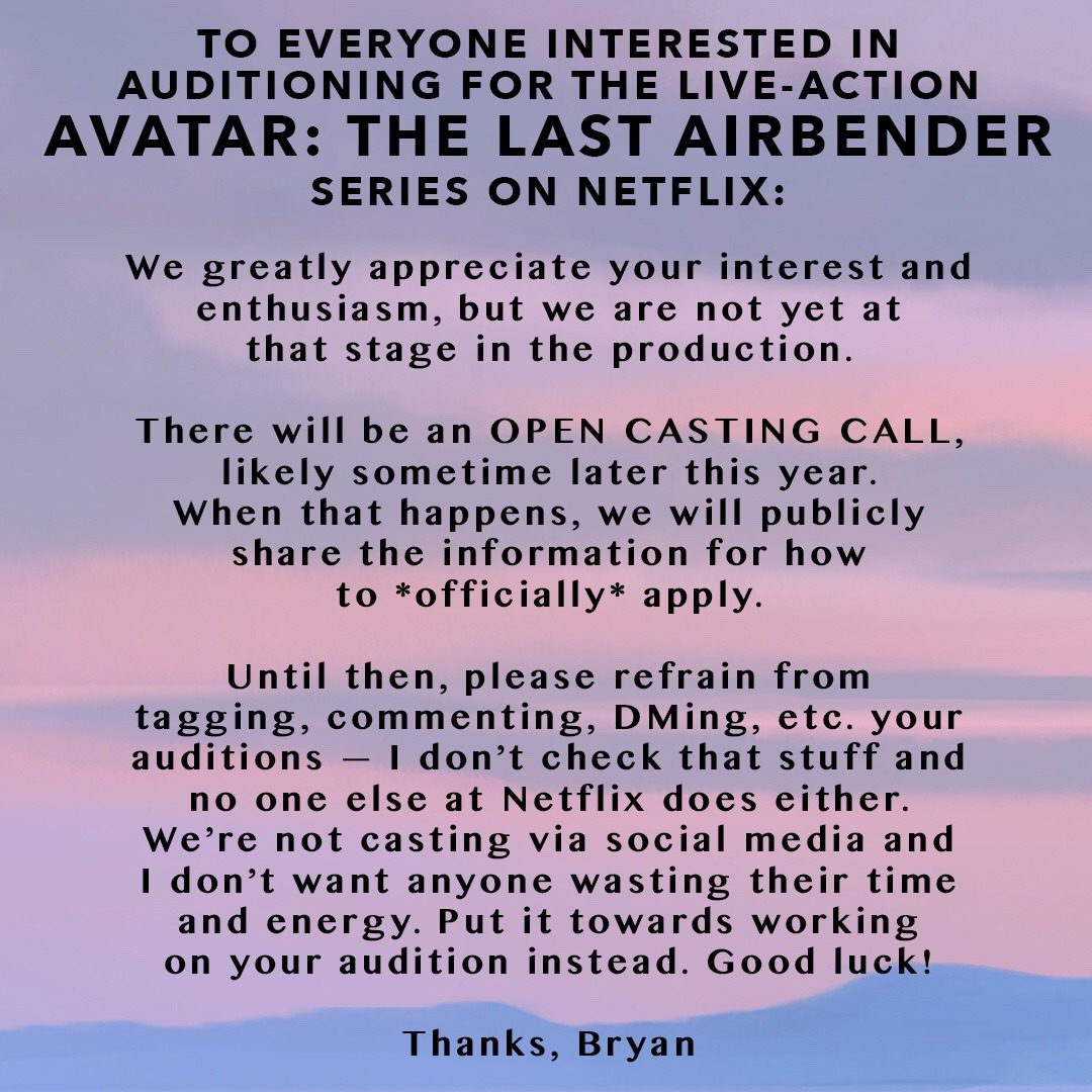 NickALive!: Netflix to Host Open Casting Call for Live