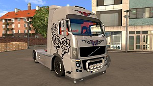S Girl skin Volvo Xtreme