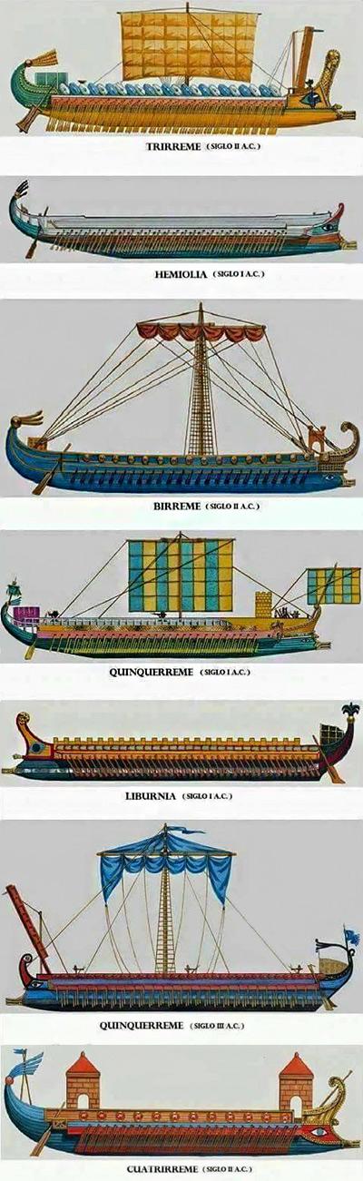 navi da guerra romane