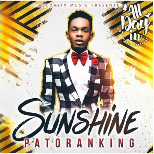 MUSIC: Patoranking – Sunshine [Mp3 Download]