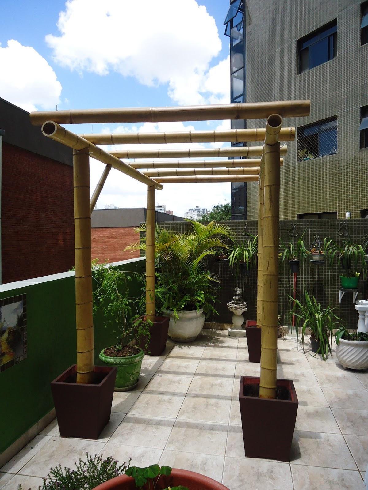 Vida bambu curitiba pr p rgola em bambu - Pergola bambu ...
