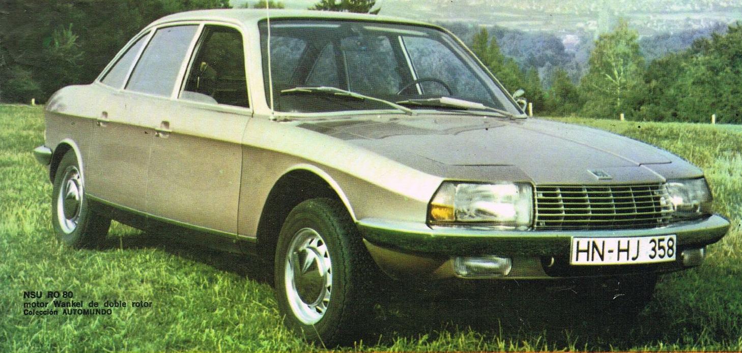 Archivo de autos: Wankel, el motor del NSU RO 80