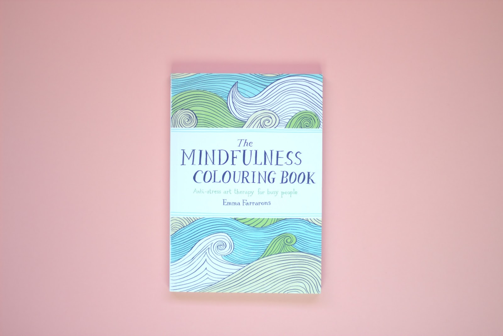 mindfullness, colouring book, meditation, wellness