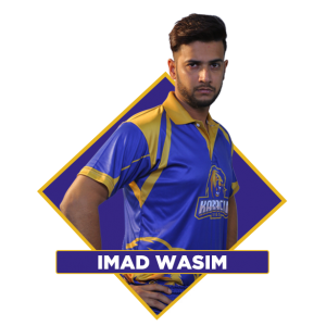 Imad Wasim Karachi Kings